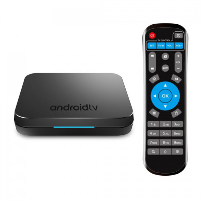 Приставка Смарт ТВ - INVIN KM9pro 4G/32Gb (Android TV Box)